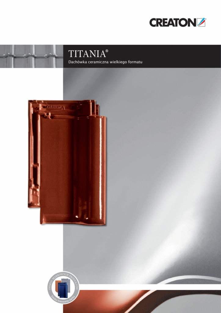 creaton titania dachówka parametry
