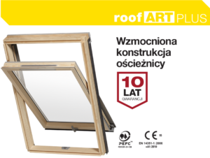 okno dachowe RoofART Plus