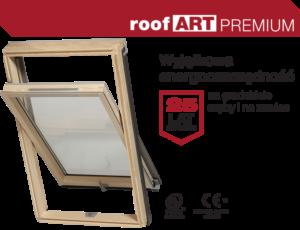 Okna dachowe RoofART Premium