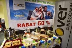 rabat 50% na wełnę Isover