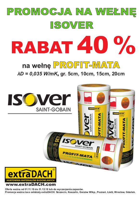 isover, wełna, promocja