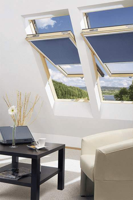 FAKRO okna dachowe o podwyższonej osi obrotu