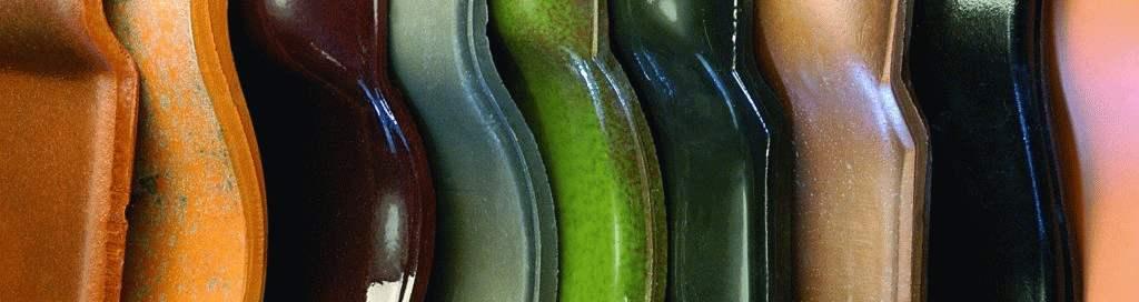 powłoki dachówek ceramicznych