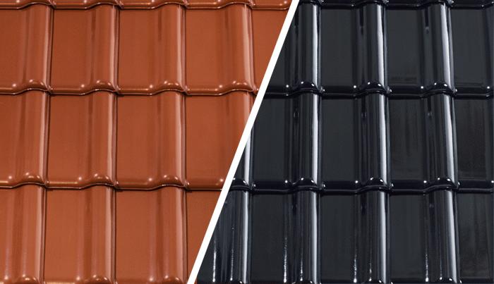 dachówki ceramiczne glazurowane
