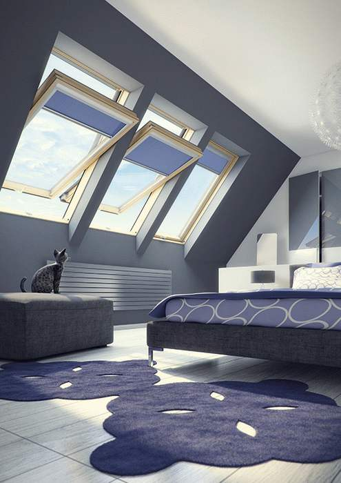 fakro okna dachowe dwuszybowe