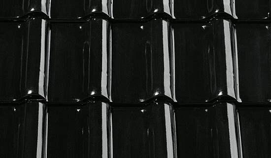 FINESSE Czarna glazurowana