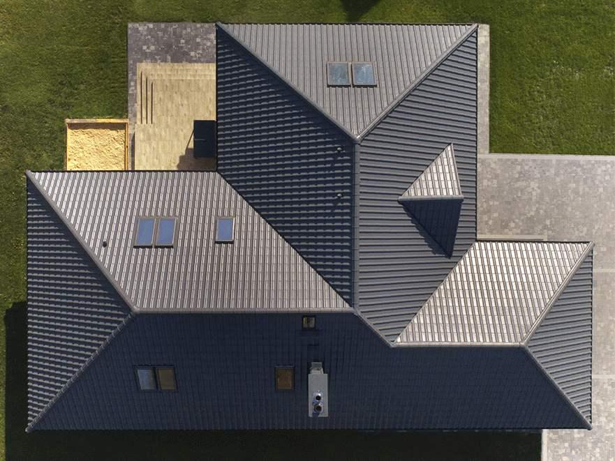 cena dachówki na dach kopertowy