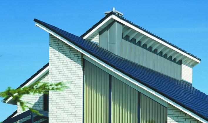 rodzaje dachów - dach jednospadowy