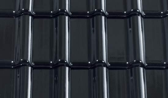 Titania Finesse czarna glazurowana