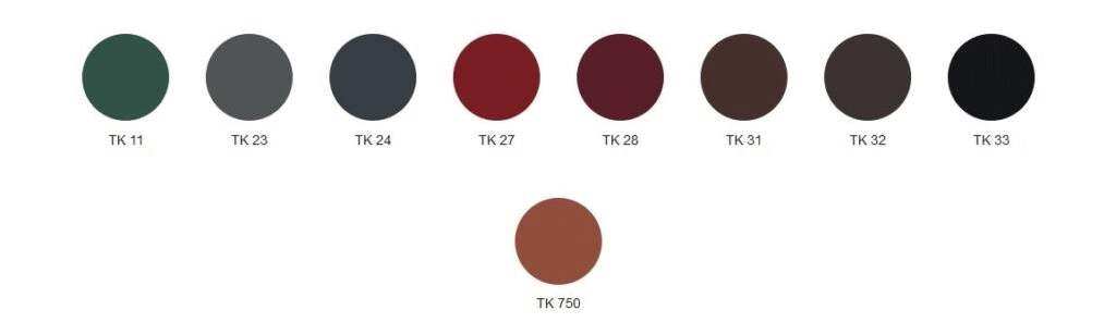 MAT 35 Standard kolory