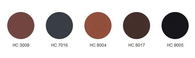 kolory blachodachówek herculit
