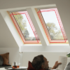 Nowe innowacyjne okna VELUX z pakietem 3-szybowym w Szczecinie