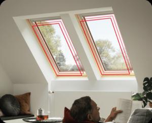 Okna dachowe GLL 1064 velux szczecin