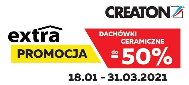 Dachówki creaton promocja szczecin