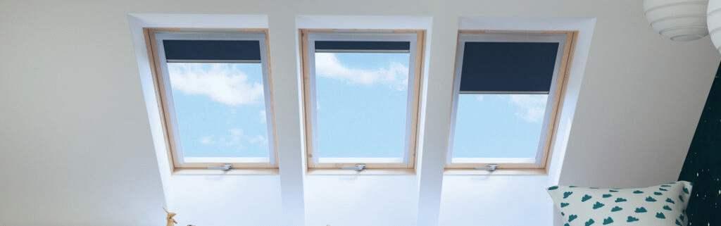okna dachowe drewniane do pokoju