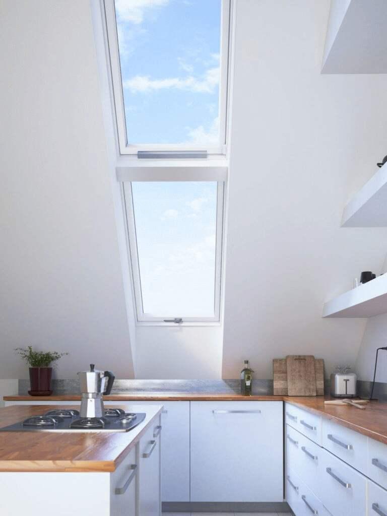 okna dachowe plastikowe do kuchni i lazienki