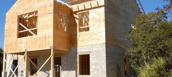 budowa domu stawianie ścian (3)