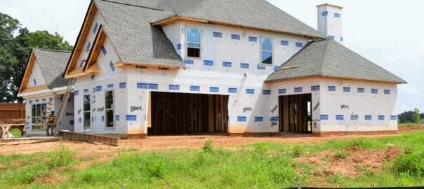 budowa domu stawianie ścian (4)