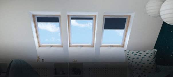 materiały budowlane okna dachowe
