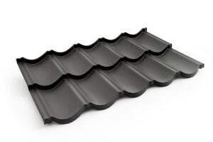 wytrzymałe pokrycie dachu z blachodachówki