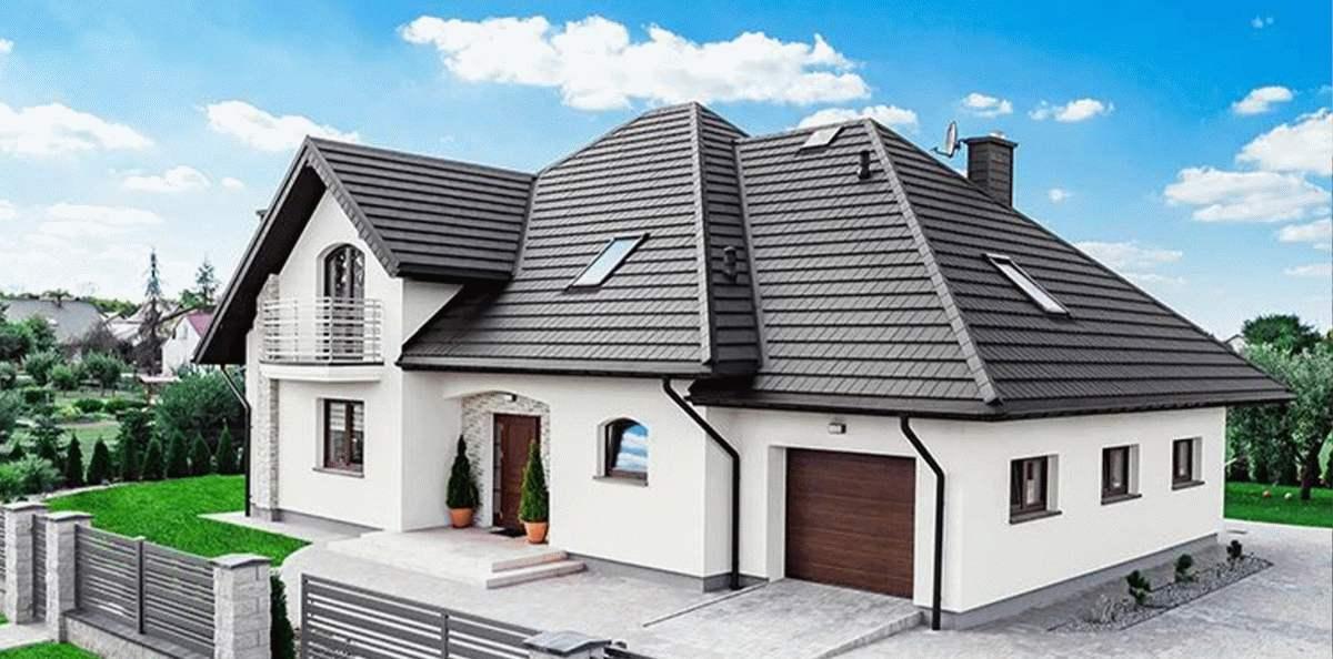 Pokrycie dachu blachodachówką