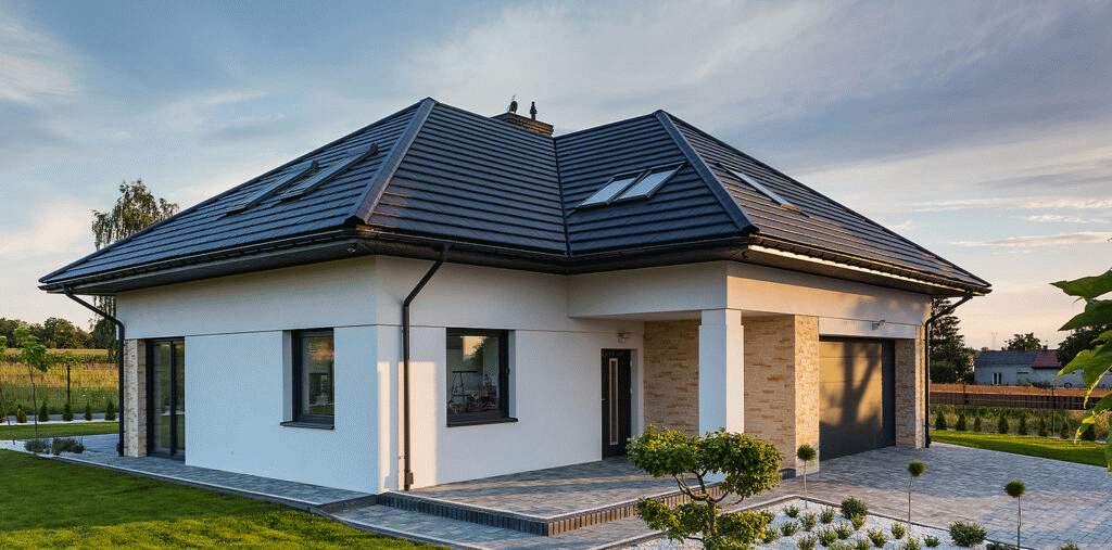 trwałe pokrycie dachu