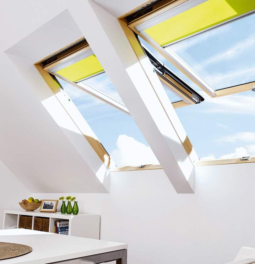 okna dachowe uchylno obrotowe