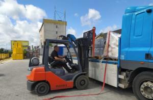 transport dachówek dachy
